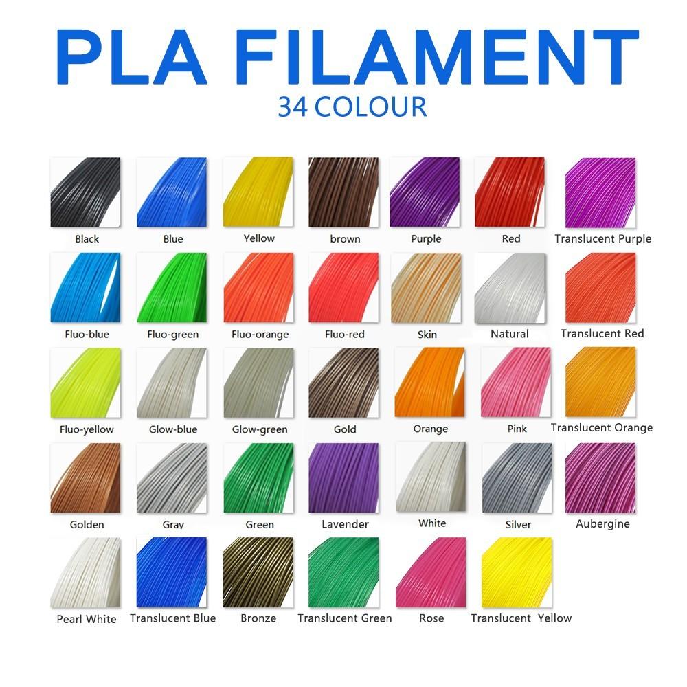 3d Printer Consumables Colors