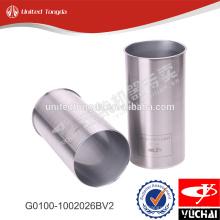 Original yc4g engine cylinder liner G0100-1002026BV2