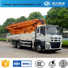 Camión de bombeo concreto de los 28m-47m en China para la venta
