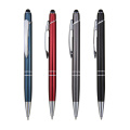 Dual duty metal pen