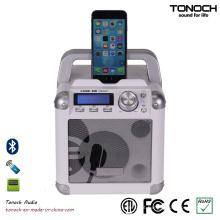 Mini Speaker sem fio portátil de 4 polegadas com Bluetooth e bateria
