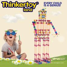 2015 Colorfull gran cuerpo plástico de construcción de bloques de juguetes educativos