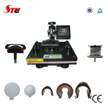 CE genehmigt niedrigen Preis Combo 8 in 1-Hitze-Presse-Maschine