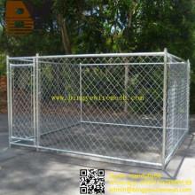 Cadena de perro de enlace de cadena al aire libre grande Cajón de perro casa de perro