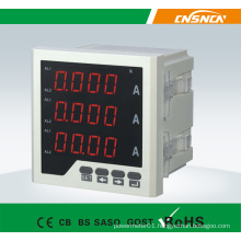Size 72*72mm Factory Price LCD Display AC Three-Phase Digital Ampere Meter, for Industrial Use