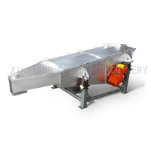 Safety and low noise linear vibration screen