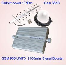 2g amplificateur de signal 3G Amplificateur de signal St-92A WCDMA UMTS 2100MHz à bande double GSM, répéteur de signal de téléphone cellulaire