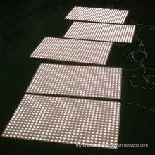 Waterproof led ceiling panel light SMD3528 flexible led panel advertising backlighting source