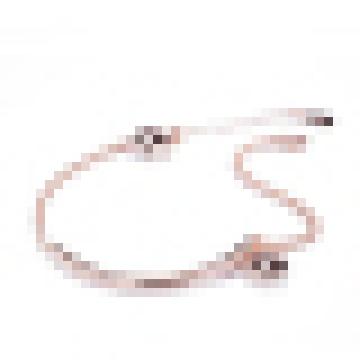 Women′s 925 Sterling Silver Wishing Star Lucky Charm Bracelet