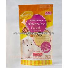 bolso del alimento del hámster / bolso plegable ziplock / bolso de plástico de OPP