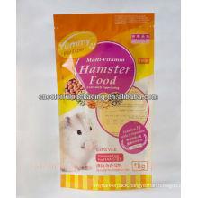 hamster Food Bag/ziplock stand up bag/OPP plastic Bag