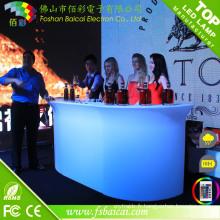 Comptoir bar moderne avec éclairage LED