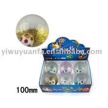 100mm Hi Glitter Flashing Led Light Bouncing Crystal Ball