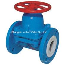 ANSI Weir Type Diaphragm Valve para productos químicos