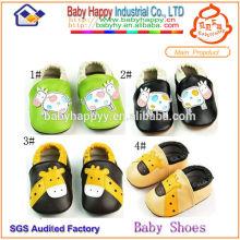 Suíço adulto suavizante sapatos de bebê da china