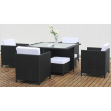 High Quality Dining Room Wicker Dining Set (CNS-2025)