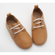 wholesale toddler kids children genuine leather casual oxford shoes