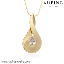 necklac00334 bijoux de mode fabriqués à la Chine pendentif or longue chaîne collier