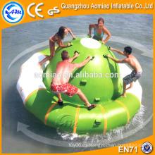 Barco inflable de grado comercial para la venta inflable agua saturno