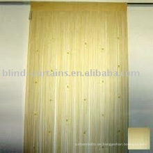 String Vorhang mit metallischen