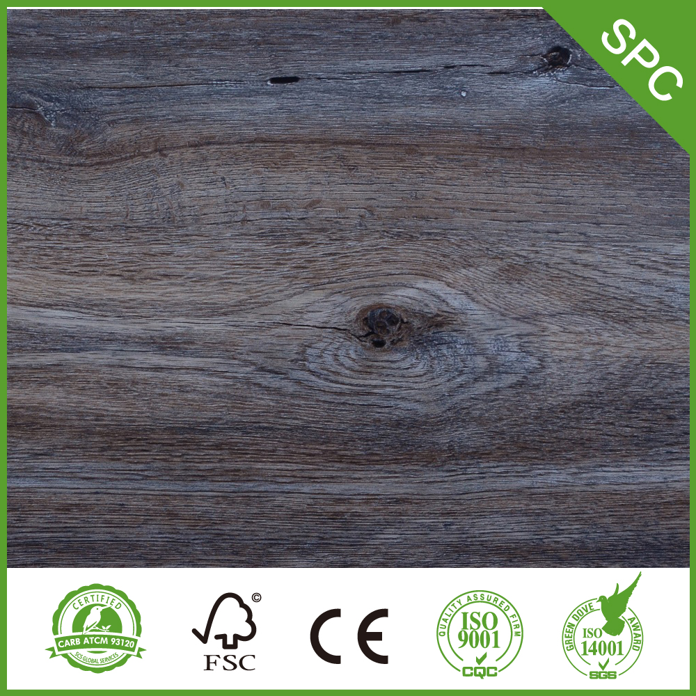 China Spc Composite Plank With Cork Manufacturers