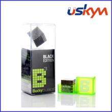 Cubo de níquel preto cubo magnético brinquedo (t-025)