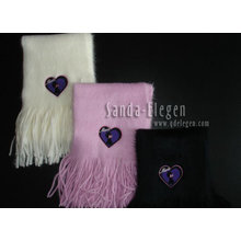 knitted fashion shawl