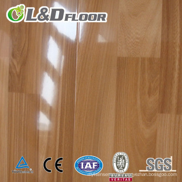 PVC waterproof high gloss timeless design laminate flooring