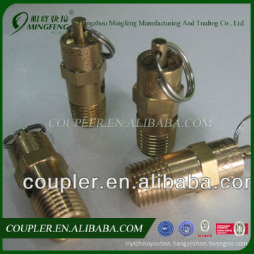 Wholesale brass boiler safety valve for air compressor