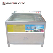Shinelong Guangzhou 160L Ozone Ultrasons Fruits Légumes Rondelle