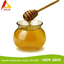 Naturaleza pequeña miel de loto de abeja