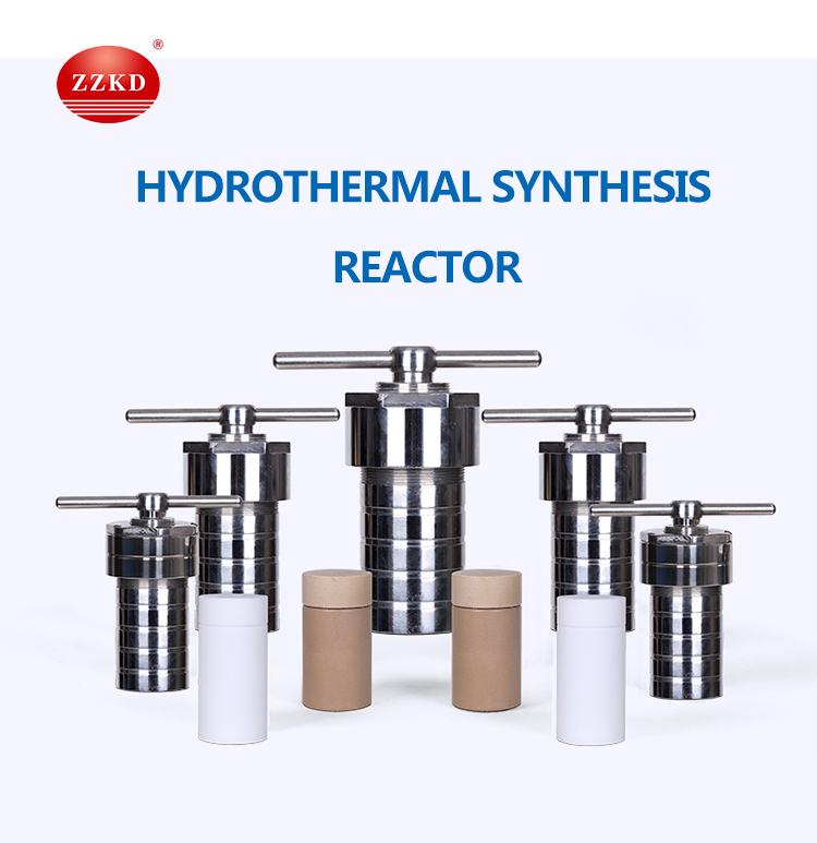 Laboratory Stainless Steel Hydrothermal Pressure Reactor Vessel
