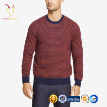 Casual Crew Neck Cashmere Sweaters For Men