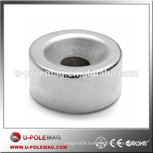 5mm Hole Super Strong Rare Earth Neodymium Disc Ring Round Magnets