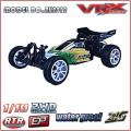 carro elétrico modelo rc escala 1/10 2WD buggy brushless com novo corpo