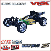 1/10 scale electric rc model car, 2WD brushless buggy with new body