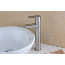 High Body Single Handle 304 Stainless Steel Vessel Faucet (HS15002H)