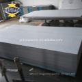 JINBAO 3mm 4mm thick pvc material dark gray pvc Rigid sheet