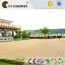 Timber plastic waterproof outdoor floor decking walkway