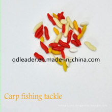 Fishing Artificial Curved Tail Maggots with OEM