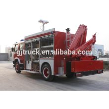 Sinotruk HOWO 4X2 Sinotruk HOWO camión de rescate de bomberos / camión de bomberos de rescate