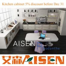 Rhodanthe 2015 novos gabinetes de cozinha MDF / PVC de design aceitam personalizar preços baratos