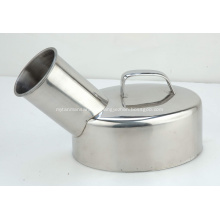 Good Price Medical Stainless Steel Urinal Pot Male