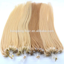 Hot fashion micro beads hair extension micro ring human hair extensions for sale