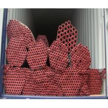 Горячеоцинкованная стальная труба (пластиковые заглушки)