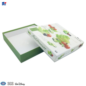 cardboard Fruit packaging decorative paper box
