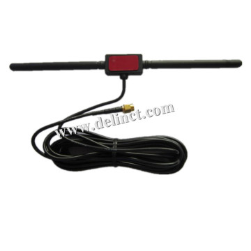 High-gain digitale tv-antenne met T-type