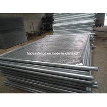 40mm Od. Paneles de valla de temperatura galvanizados de servicio pesado