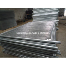 40mm Od. Heavy Duty Galvanized Temp Fence Panels
