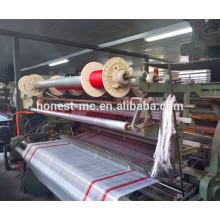 Power shuttle loom producing keffiyeh arab scarf sold well